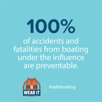 Boating Under the Influence is not tolerated in any Way, Shape, or Form
